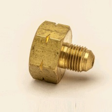 "Cylinderadapter 1/2""x5/16"" flare"